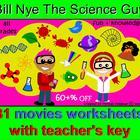 Bill Nye Science Guy 30 Best Movies: Videos Worksheets & K