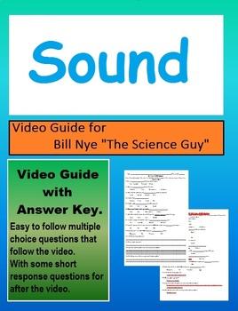 Bill Nye: How Sound Waves Travel video follow along sheet