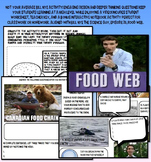 Bill Nye food web food chain ecology worksheet key interac
