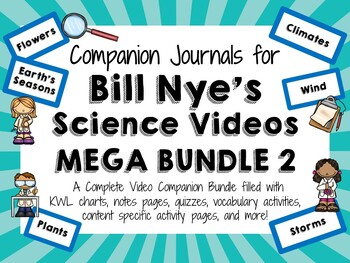 Bill Nye the Science Guy Mega Bundle 2 - Video Journals