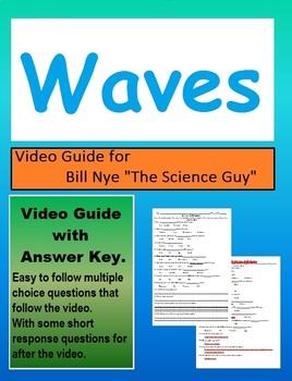 Bill Nye: Transfer of energy waves  video follow along sheet