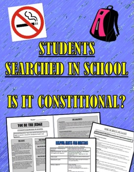 Bill of Rights Amendment 4 Illegal Search of Student?