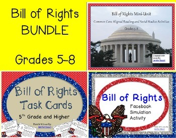 Bill of Rights BUNDLE for Grades 5-8