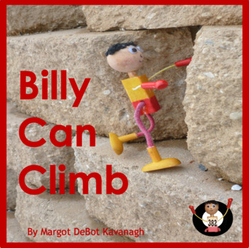 Billy Can Climb: An Emergent Guided Reading Level 2 Billy