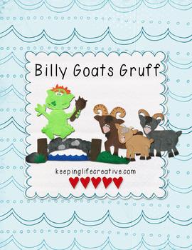 Billy Goats Gruff {Felt Story Set}