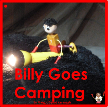 Billy Goes Camping: An Emergent Guided Reading Level 1 Bil