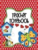 Binder Butterfly Flutter By Teacher Totebook