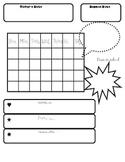 Binder Calendar Page