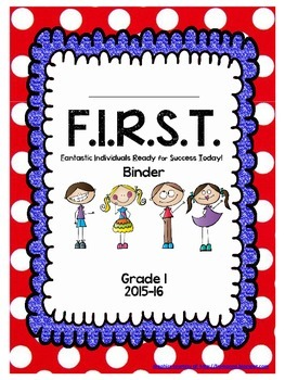 Binder Cover for First