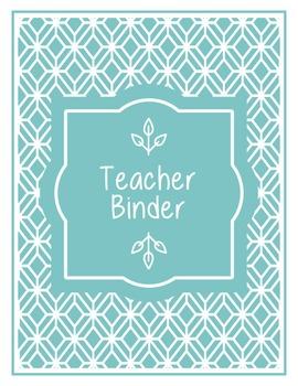 Binder Covers: Hawaii Friendly