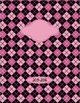 Binder Covers - Argyle Designs (four)