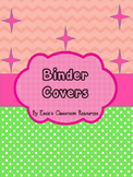 Binder Covers - Subjects