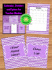 The Teacher Planner: Binder Dividers and Spines for Organization