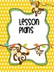 Binder Monkey Business Teacher Totebook