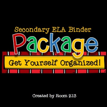 Binder Package to Keep You Organized