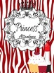 Binder Red Pretty Princess Teacher Totebook