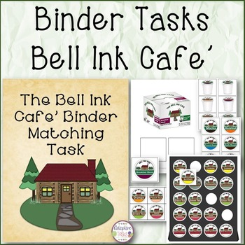 Binder Matching and Stocking Tasks Bell Ink Cafe
