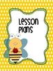 Editable Binder  The Bee Hive Teacher Totebook