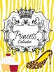 Binder Yellow Pretty Princess Teacher Totebook