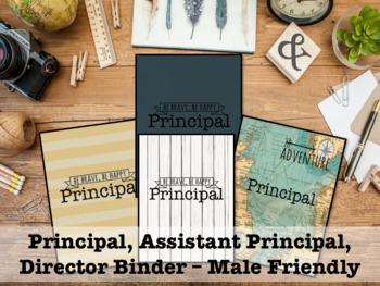 Binder for Principal, Assistant Principal - Male Friendly 2016-17
