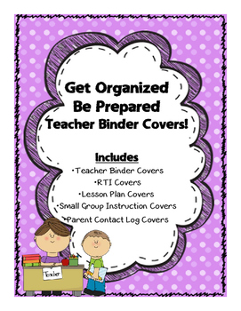 Binder or Folder Covers