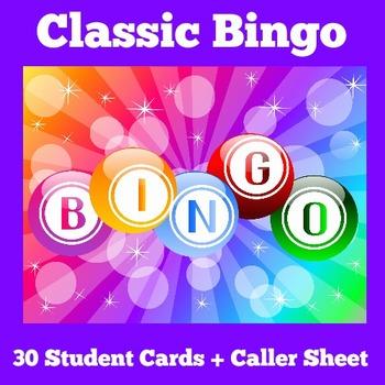 Bingo Activity
