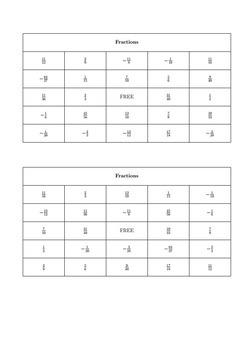 Bingo Algebra - Pre-Skills