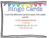 Bingo Board Pack