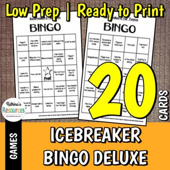 Bingo Boards for Classroom Use