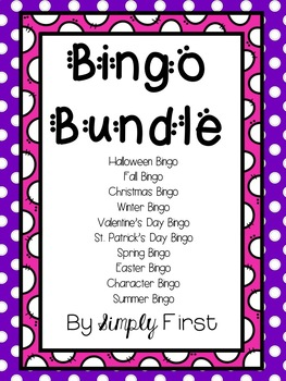 Bingo Bundle! (9 total games)