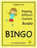 Reading Games: Bargain Tutor Bundle (Difficult Clusters)