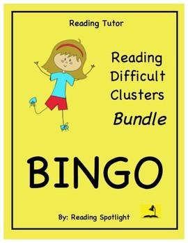 Reading Games: Bargain Tutor Bundle (Difficult Clusters)