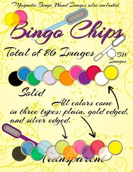 Bingo Chips and Wands