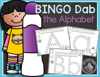 Bingo Dab the Alphabet
