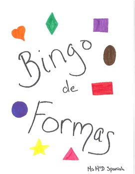 Bingo de Formas