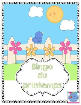FRENCH Spring BINGO/ Le printemps