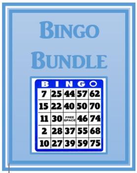 Bingo games in English Bundle
