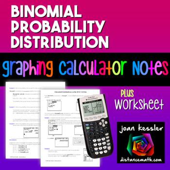 AP Statistics Binomial Probability Distribution TI 83 84 P