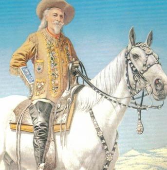 Bio BUFFALO BILL (William F Cody) Lesson w/ 15 Mult Choice