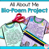 Bio-Poem and T-Shirt Design Project