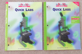 "BioSources Lab Program ""Quick Labs"" by Holt Student and Te"