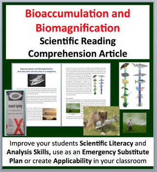 Bioaccumulation and Biomagnification - Science Reading Art