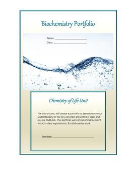 Biochemistry (Chemistry of Life) Portfolio