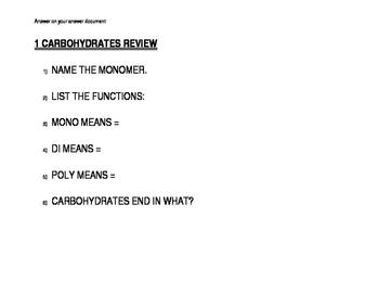 Biochemistry Stations Review