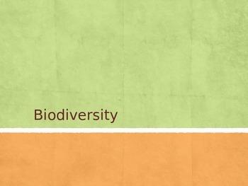 Biodiversity Intro and Activity