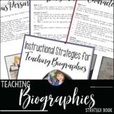 BIOGRAPHY TEACHING IDEAS FOR BLACK HISTORY