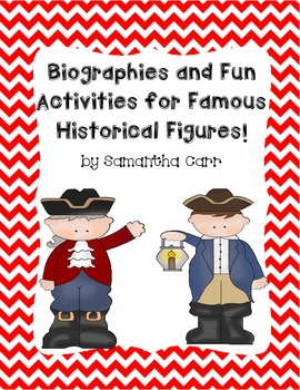 Informational Biographies and Fun Activities with Historic