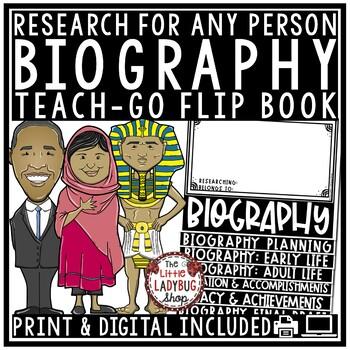 Biography Research Flip Book