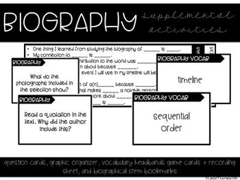 Biography Activities