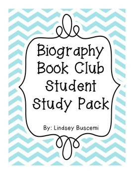 Biography Book Club Pack